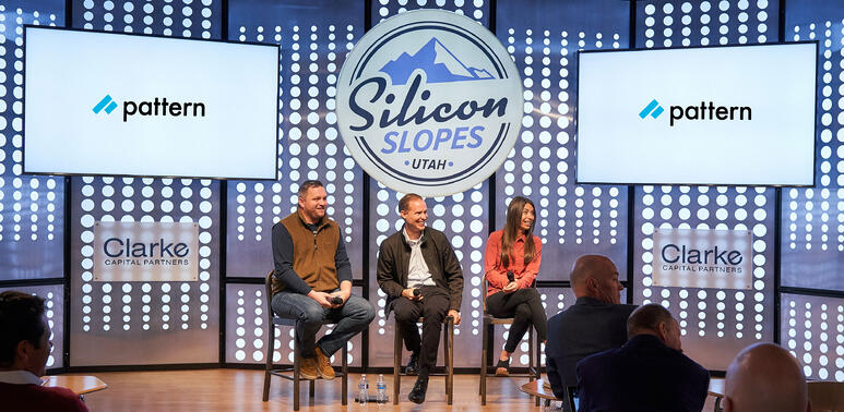 Silicon Slopes Breakfast Event with Pattern