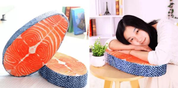 Salmon Pillow