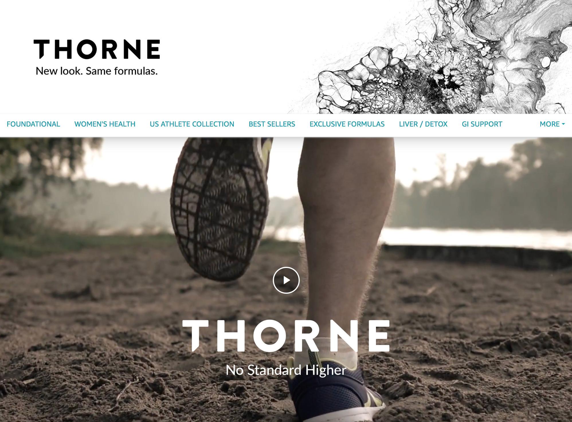 Thorne Amazon Store
