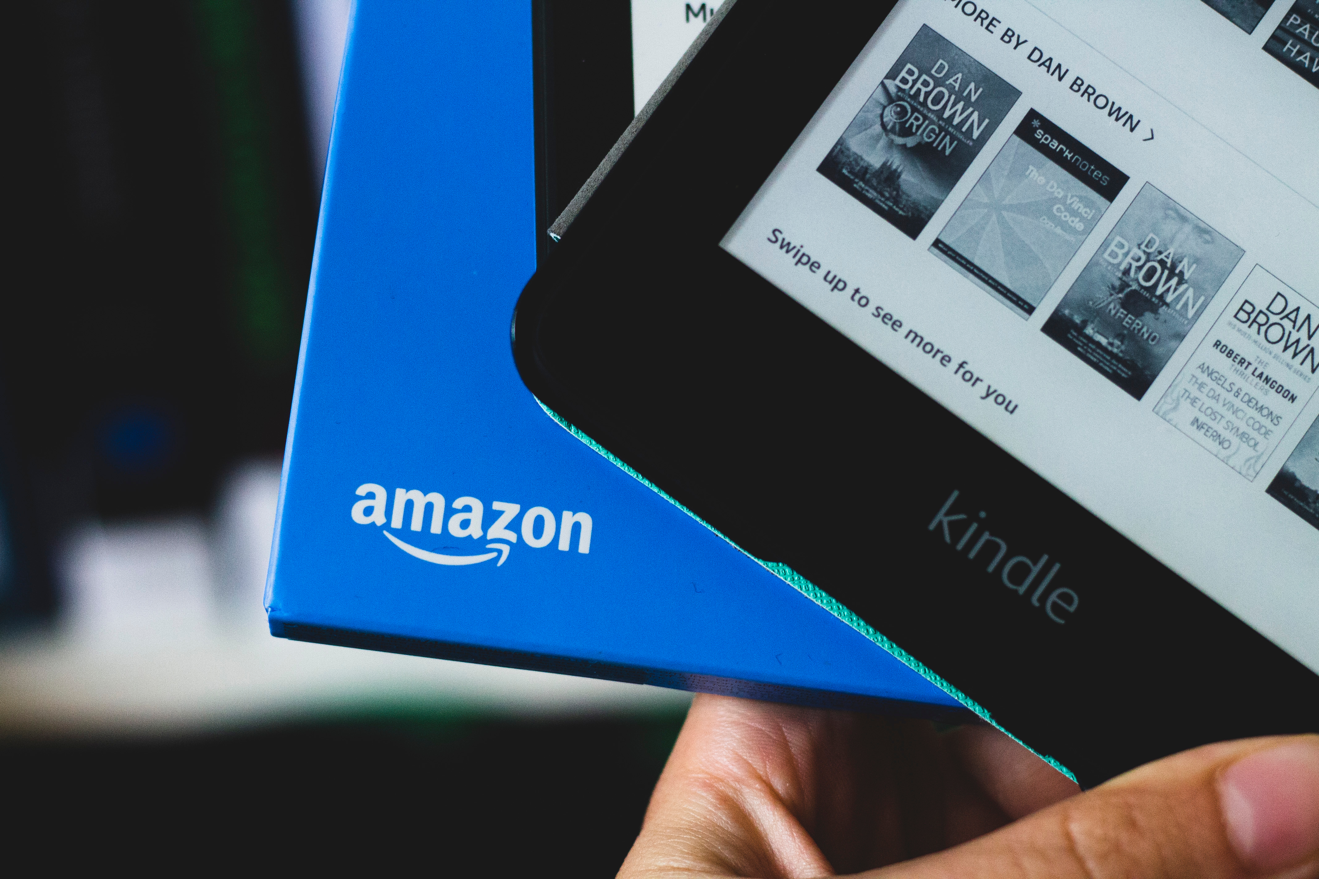 Amazon Kindle allows you to buy ads that potentially drive traffic back to Amazon.